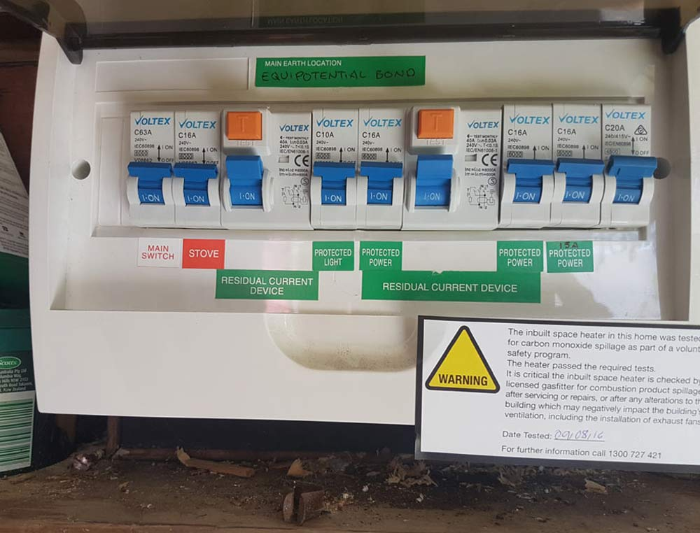 electrical switchboard upgrade for house